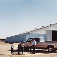 "Joel Sternfeld's ""New Elm Springs Colony,"" depicting Hutterites in South Dakota"