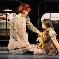 Johanna Loughran and Felicia Niebel in Pittsburgh CLO's <i>Annie</i>