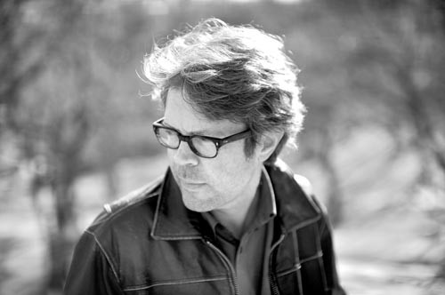 Jonathan Franzen at the Drew Heinz Lecture - PHOTO COURTESY OF GREG MARTIN.