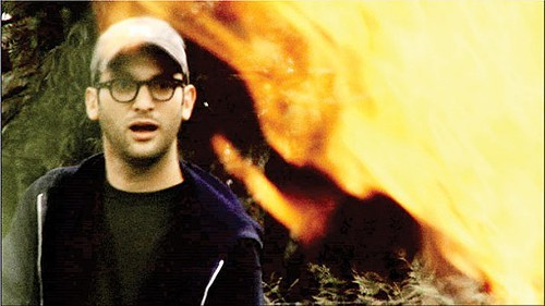 Josh Fox in a scene from Gasland Part II