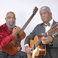Josh White Jr. (left) and Rev. Robert B. Jones, Jan. 31