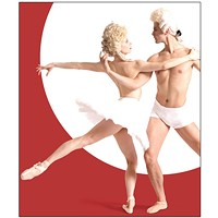 Julia Erickson and Robert Moore in a promo image for Pittsburgh Ballet Theatre's <i>Uncommon</i>
