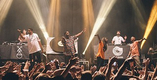 Jurassic 5, dialated peoples, beat junkies, play stage ae north shore