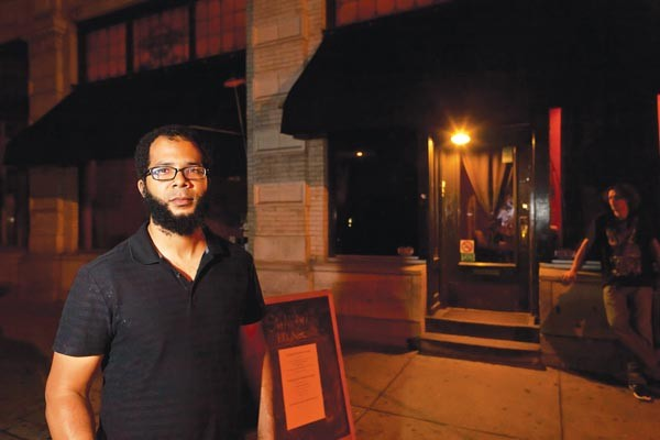 Justin Strong says he's mystified by complaints about his Shadow Lounge