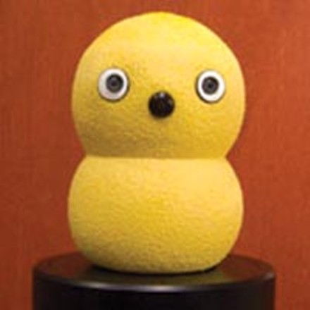 Keepon, the dancing robot, was an innovation submitted by Marek Michalowski, a CMU Ph.D student and co-founder of the Pittsburgh company BeatBots.