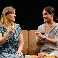 "Kelly McAndrew and January LaVoy in ""Good People."""