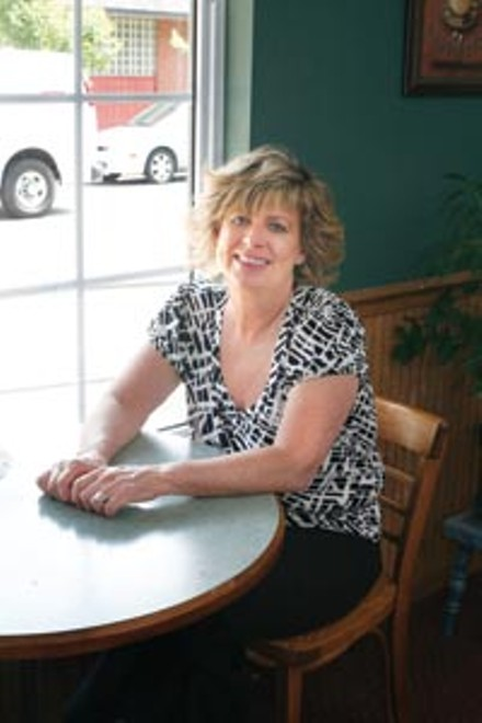 Kelly Sue Carryer of Sue's Cozy Corner - HEATHER MULL