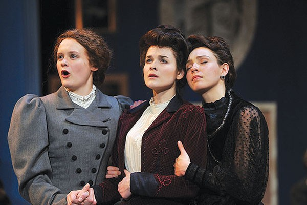 Kelsey Carthew, Olivia Lemmon and Colleen Pulawski in Three Sisters