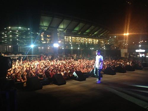 Kendrick Lamar at Stage AE