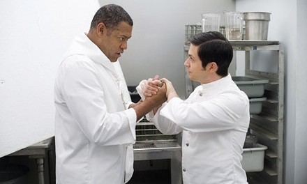 Kitchen stories from the Ambassador: Laurence Fishburne and Freddy Rodriguez