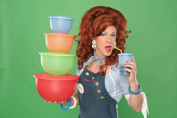 Kris Andersson in Dixie's Tupperware Party at Pittsburgh CLO Cabaret
