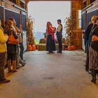 Kristen Blocka's barn wedding