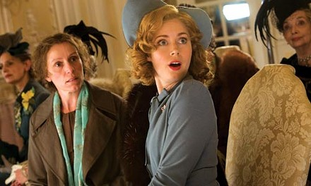 Ladies' day: Frances McDormand and Amy Adams