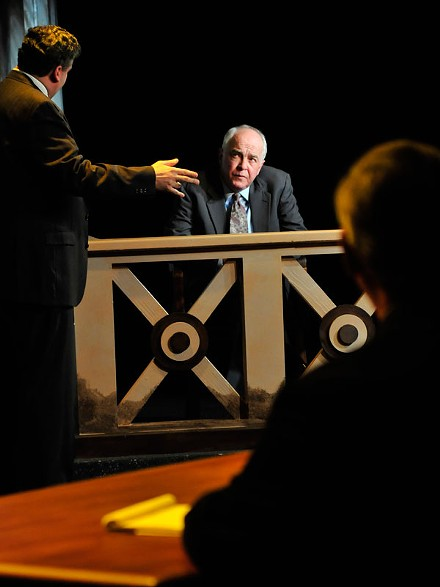 Larry John Meyers as Cyril Wecht in The Gammage Project.