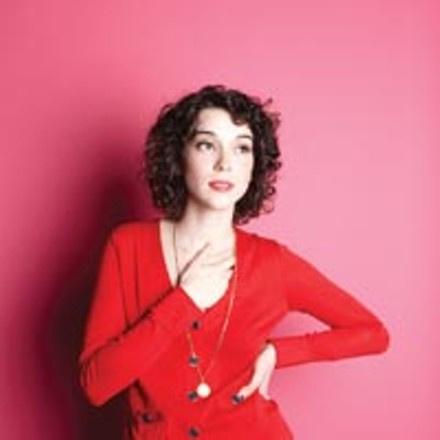 Laughing with a mouth of blood: St. Vincent