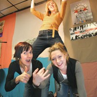 Female power-trio the Great Ants releases debut, <i>For Simply</i>
