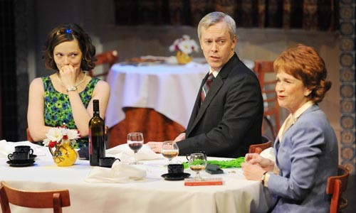 Leah Curney,  Tim McGeever and Ann McDonough star in Time of My Life. - PHOTO BY PITTSBURGH PUBLIC THEATER