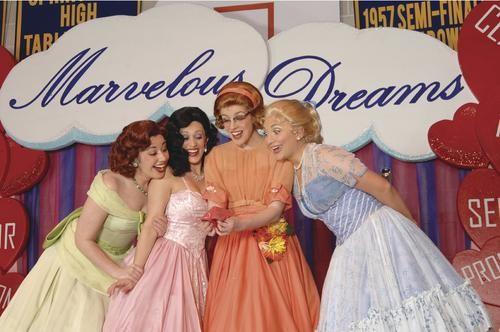 Left to right: Stephanie Maloney, Marlana Dunn, Courtney Bassett and Tara Geisler in Pittsburgh CLO's The Marvelous Wonderettes - PHOTO COURTESY OF MATT POLK