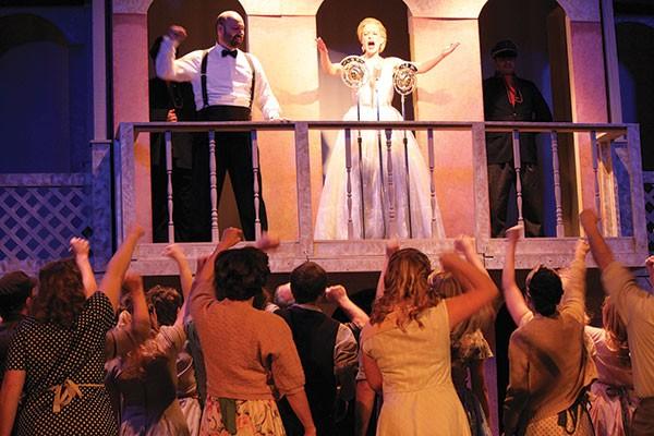 Leon Ziontz, Cynthia Dougherty, Stage 62's Evita