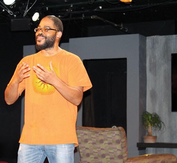 "Leslie ""Ezra"" Smith performs in Book of Ezra"