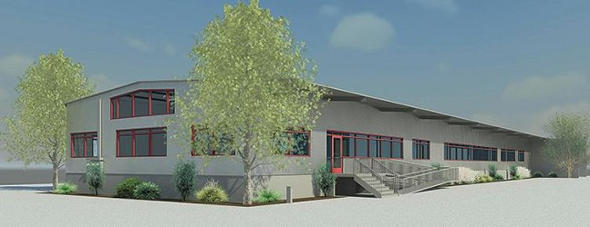 Rendering of Persad's new location - IMAGE COURTESY OF PERSAD CENTER