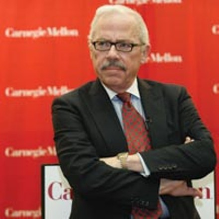 Libertarian Presidential candidate Bob Barr spoke at Carnegie Mellon University on Oct. 10. - HEATHER MULL