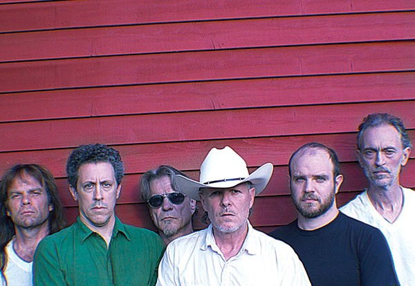 Like a groove machine: Swans (Michael Gira, foreground, in cowboy hat)