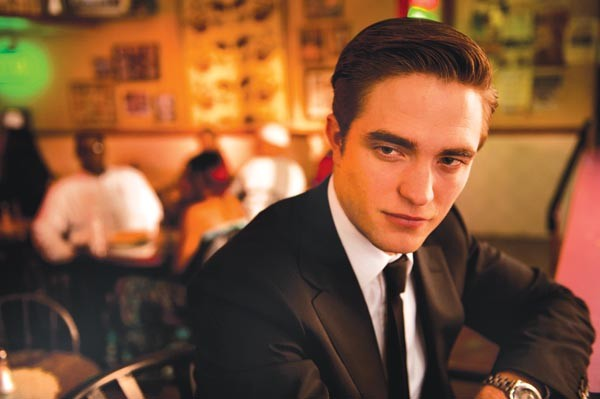 Limousine living: Robert Pattinson