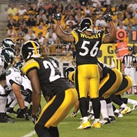 Linebacker Lamarr Woodley will be key to the Steelers defense