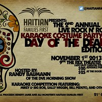 Live performances and celebrity karaoke to benefit Haitian Families First
