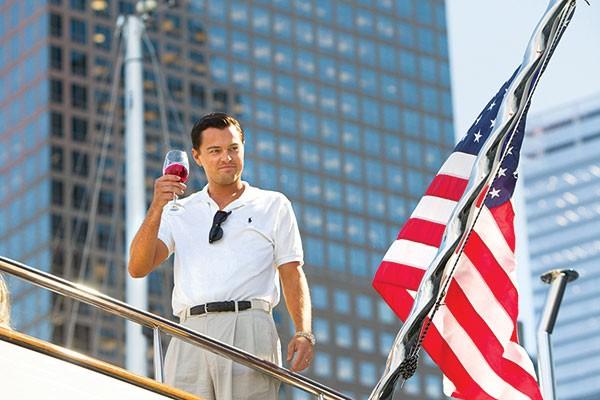 Livin' the dream: Jordan Belfort (Leonardo DiCaprio)