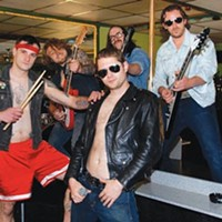 Awesome Party offers classic metal mayhem and a sleazy good time