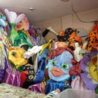 Parading puppets once again ring in the New Year at First Night