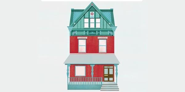 Local illustrator Mundania Horvath does custom house portraits
