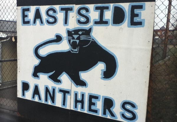 Logo of the Eastside Panthers Youth Football Team