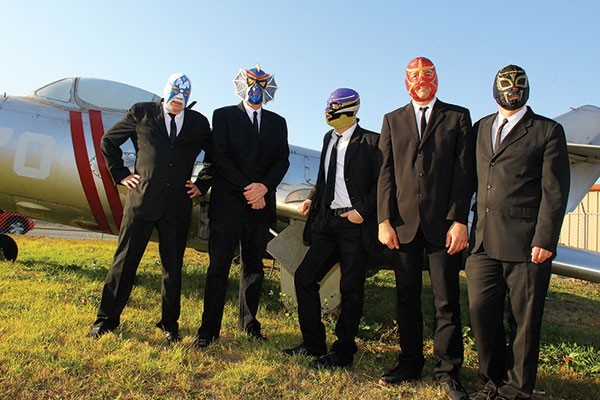 Los Straitjackets, Altar Bar, Pittsburgh