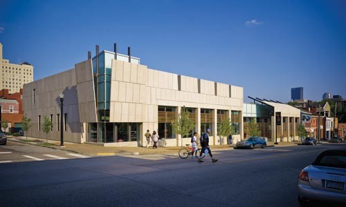 Lucid balance: the Carnegie Library's North Side branch. - ED MASSERY