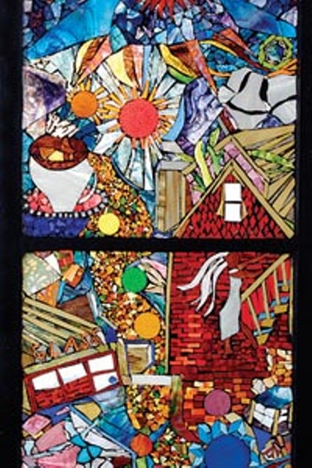 Luminous: one of Daviea Davis' Community Mosaics