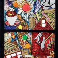 Daviea Davis' Neighborhood Mosaic Project shines at the Pittsburgh Glass Center.