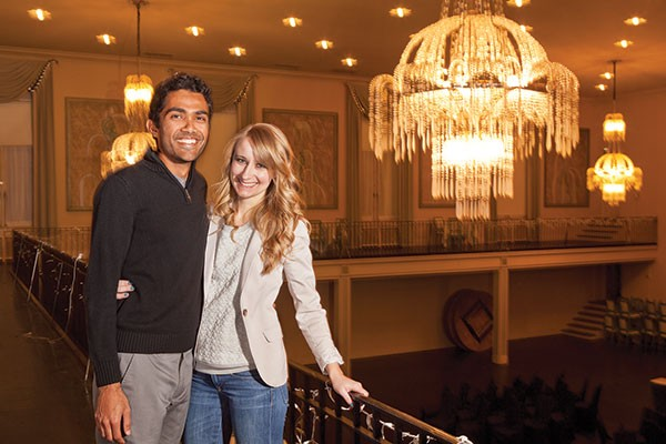 Madhur Paharia and Brittany Kregiel are holding their vegan wedding at Oakland's Twentieth Century Club