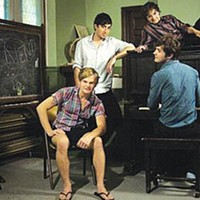 Brooklyn's Grizzly Bear performs at the Warhol