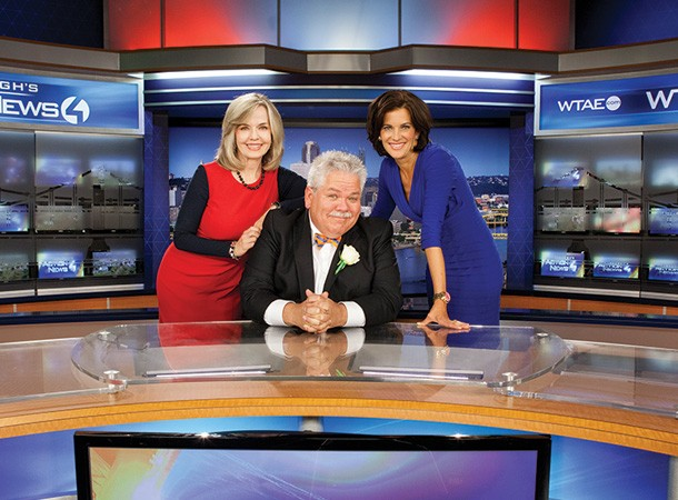 Making Pittsburgh's televisions screens look extra sharp: Best Local Media Personalities Rick Sebak and WTAE Channel 4's Sally Wiggin and Wendy Bell