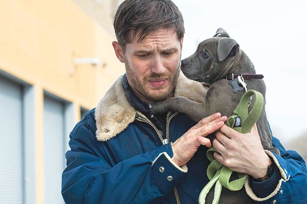 Man's best friend: Bob (Tom Hardy) and Rocco