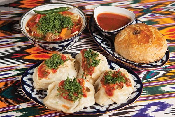 Manti lamb dumplings