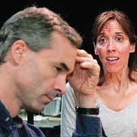 Mark Cox and Mary Liz Meyer in Little Lake's <i>Time Stand Still</i>.