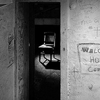 Mark Perrott turns his lens on prison graffitti inside Western Penitentiary.