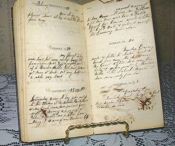Martha Feisler's diary