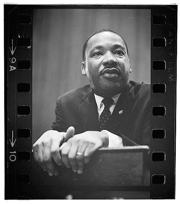 Martin Luther King Jr. photographed by Marion S. Trikosko, 1964