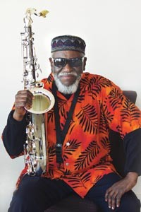 Master plan: Pharoah Sanders - PHOTO COURTESY OF QUENTIN LEBOUCHER
