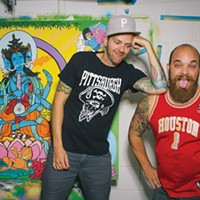 Matt Gondek and Brian Gonnella draw together